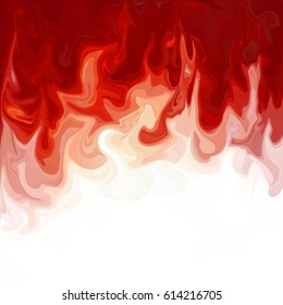 Red Digital Acrylic Color Swirl Or Similar Marble Twist Texture Background