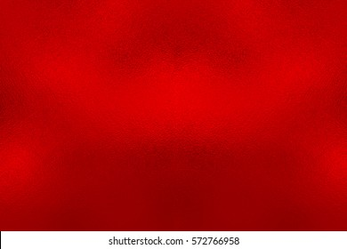 Red foil background, metal texture