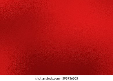 Red foil paper decorative texture background for artwork
