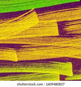 Red Fuchsia Boho Hand Drawn Stroke. Cinnamon Brown Paintbrush Hipster Marker Stripes. Green Shibori Pattern Line. Camel Energetic Positive Marker Stripes Backdrop.
