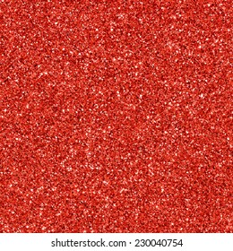 Red glitter texture. Red background