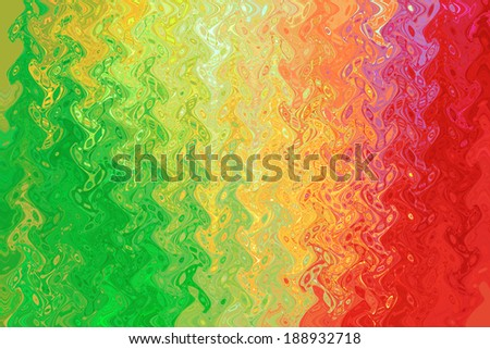 Red Green Yellow Color Background Abstract Stock Illustration