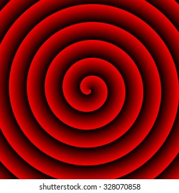 Red Hypnotic  Background for text or advertising