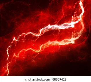 size 40 2fe8e c876d Red Lightning Images, Stock Photos   Vectors   Shutterstock