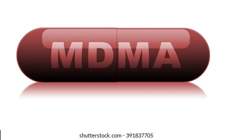 Red MDMA Pill