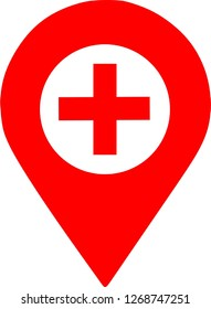 Red Medical Location
