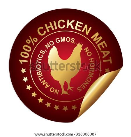 Red Metallic High Quality 100 Percent Stock Illustration