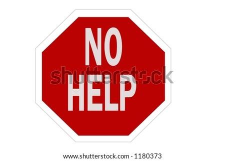 red octagon no help signのイラスト素材 1180373 shutterstock