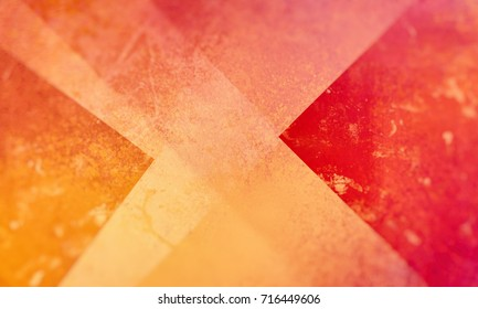 red orange and yellow background with layers and shapes, abstract backdrop design, colorful, warm colors and slightly blurred borders