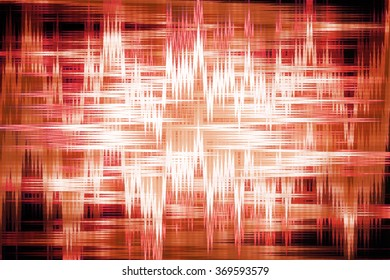 Red and orange zigzag background