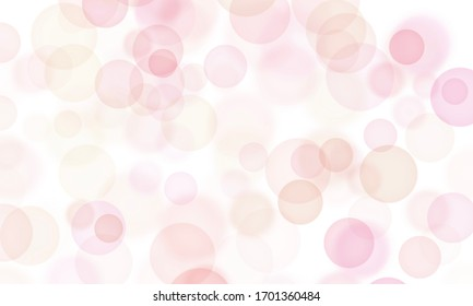 Red & Pink Abstract Art. Bokeh, Background, Design