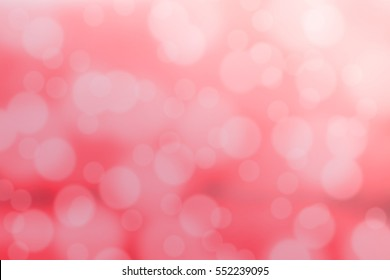 RED - PINK BOKEH FOR BACK GROUND