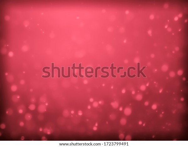 Red and pink bokeh on a white background. Red and pink blur, used as wallpaper.