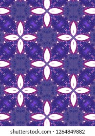 Red and purple geometric pattern