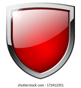 Red Shield Images Stock Photos Vectors Shutterstock