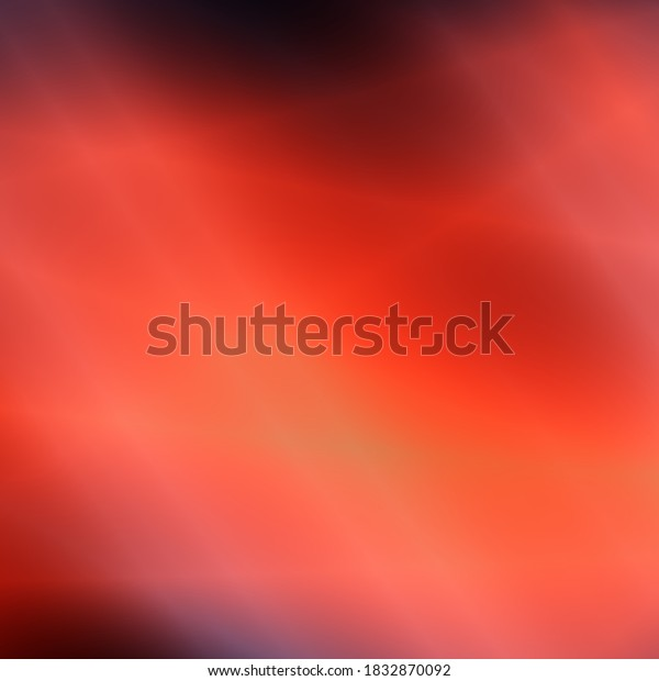Red sky art illustration abstract background