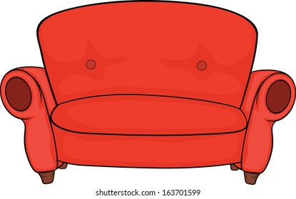 Excellent Sofa Cartoon Images Stock Photos Vectors Shutterstock Machost Co Dining Chair Design Ideas Machostcouk