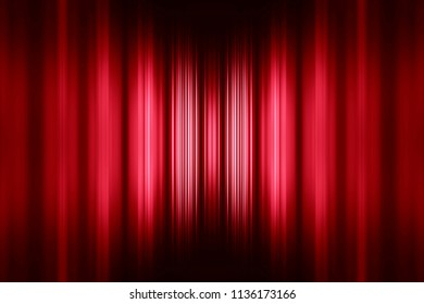 Red speed stripes background with selective focus centre highlight