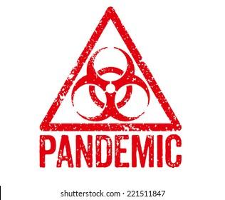 Red Stamp - Pandemic
