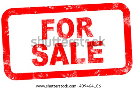 red stamp words sale on white stock illustration 409464106