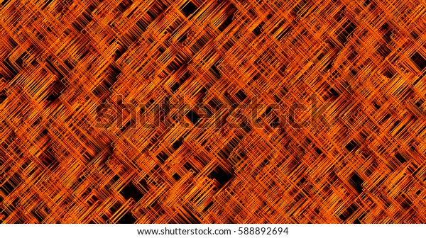 red texture of hair abstract background