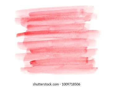 red watercolor splashing stroke background.image