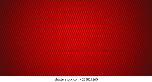 Red. Widescreen striped background. Digital image with angled stripes. High-resolution wide background for design. An angle strips. Radial gradient. Bitmap image. Computer graphics. Photoshop.