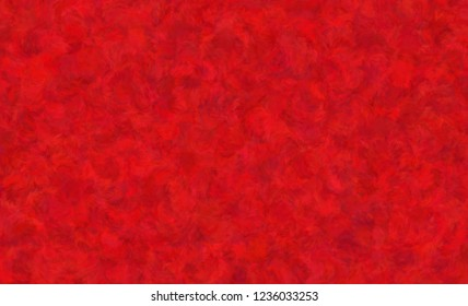 RED wool fur pattern, Feather texture carpet design luxury for use as a background or paper element scrapbook. Has copy space Christmas decoration concept.