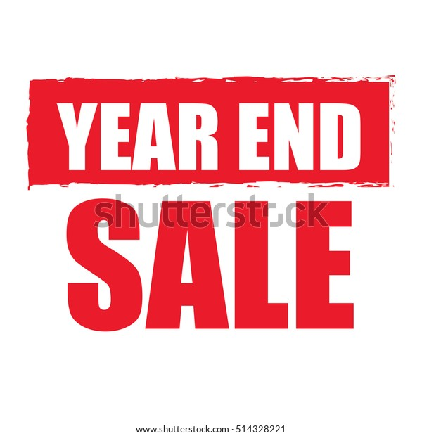 Red Year End Sale Infographics Signのイラスト素材 514328221