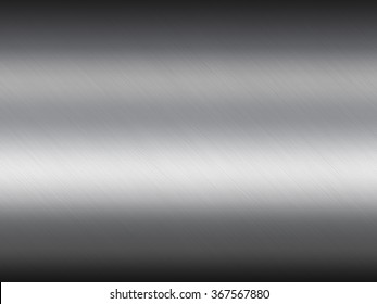 Reflect metal texture neutral background with brushed chrome surface