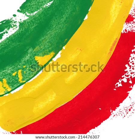 reggae colors