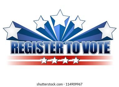 register to vote images stock photos vectors shutterstock