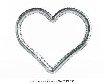 reinforcement heart symbol. 3d Illustrations on a white background