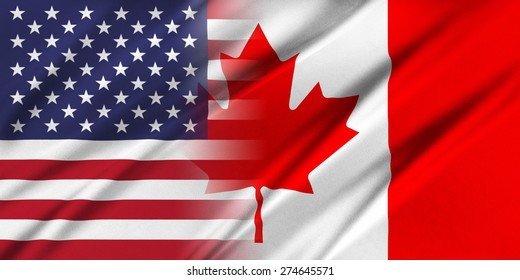 Relations between countries. USA and Canada.