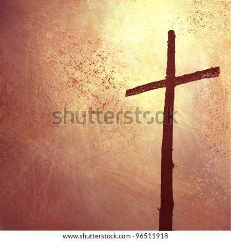 religious inspiration christian background cross illustration stock