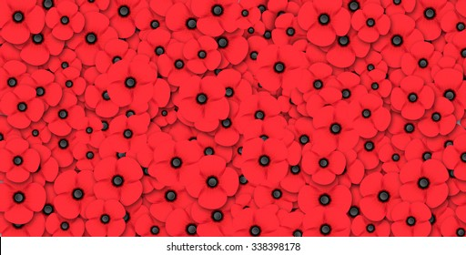 Remembrance Day poppy background
