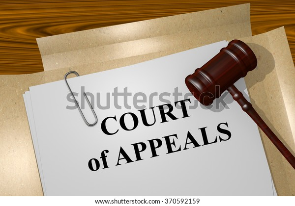 Render illustration of Court of Appeals title on Legal Documents