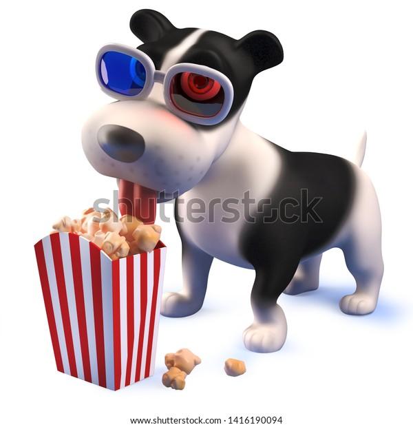 Rendered Image 3d Puppy Dog Hound Stock Illustration 1416190094
