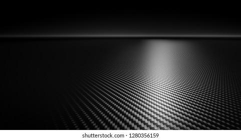 rendering 3d of carbonfiber background