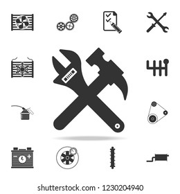 repair tools icon. Detailed set of car repear icons. Premium quality graphic design icon. One of the collection icons for websites, web design, mobile app