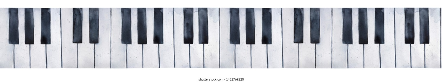 photograph about Piano Keyboard Printable called Piano Keyboard Photographs, Inventory Images Vectors Shutterstock