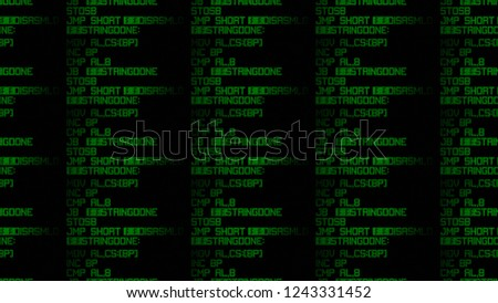 Repeatable Seamless Pattern Source Code On Stock