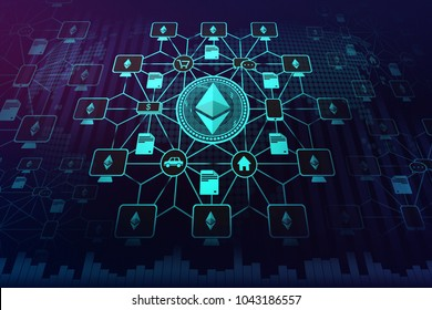 Representation and Depiction of Ethereum Network , Images show what Ethereum will be used for