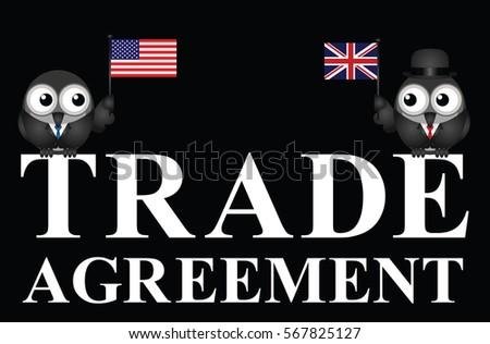 Representation Usa Uk Transatlantic Trade Agreement Stock