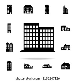 residential building  icon. house icons universal set for web and mobile