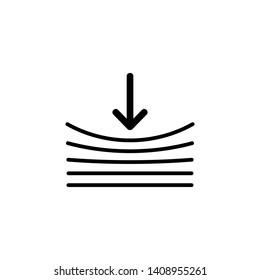 Resilience icon on white. illustration