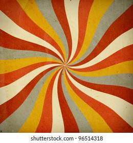 retro background with twist pattern