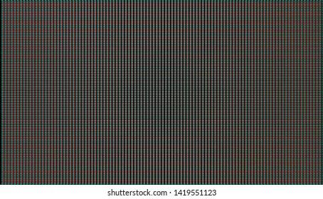 Retro crt display grid illustration with cromatic aberration