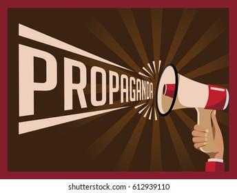 Retro propaganda poster for revolution or workers rights.