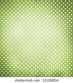 Retro style dotted background
